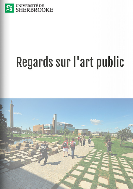 Views on Public Art of Université de Sherbrooke
